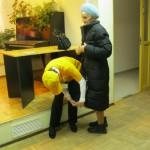 И эта пожилая женщина не осталась без внимания Галины.